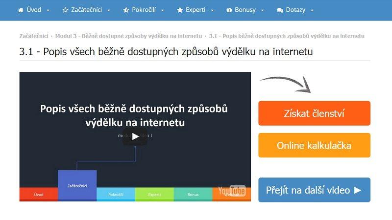 Jak vydělávat na internetu