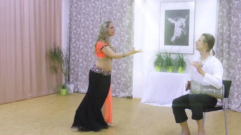 Orientální tanec DRUM SOLO s Katkou Derouet