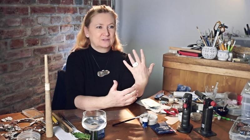 Ruční výroba šperků z modelovacího stříbra Art Clay Silver